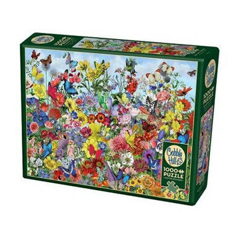 Puzzle 1000 pz - Butterfly garden