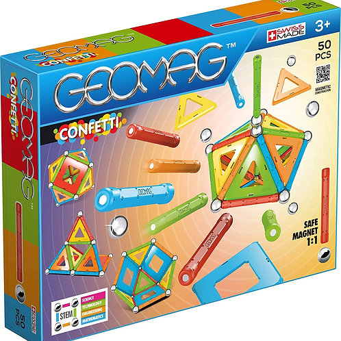Geomag confetti 50 pz