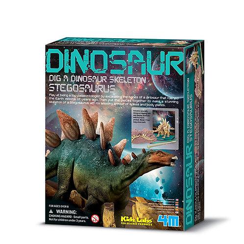 Scava e costruisci un fossile di dinosauro - vari soggetti