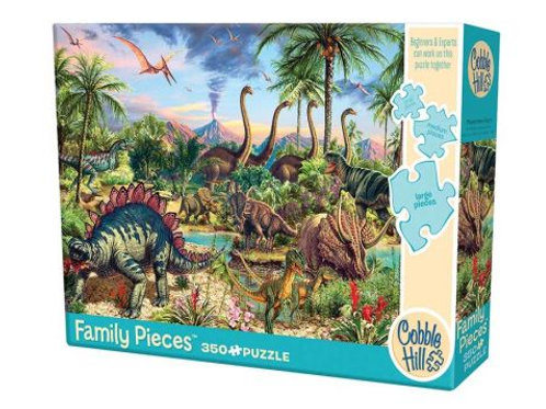 Family puzzle 350 pz - Prehistoric party