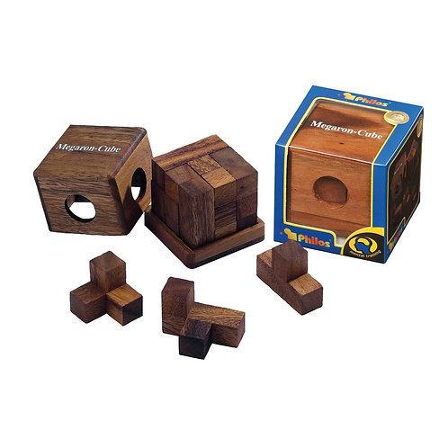 Rompicapo cubo legno - Megaron