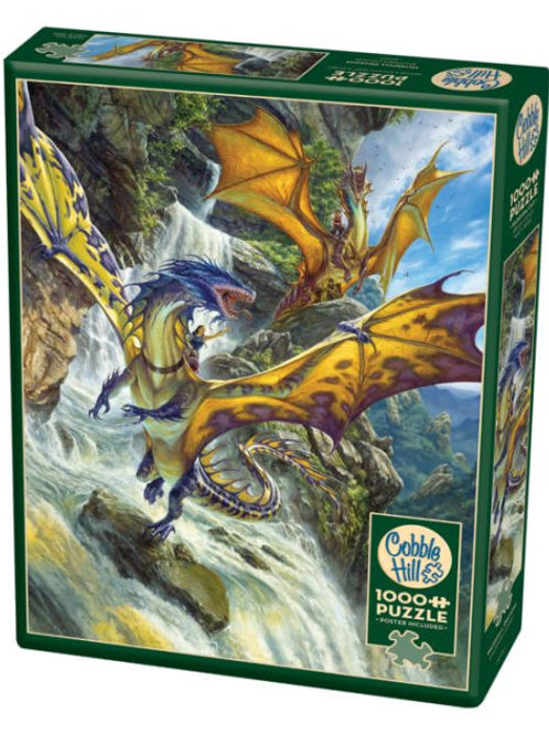 Puzzle 1000 pz - Waterfall dragon