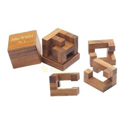 Rompicapo cubo legno grande - Juha 9