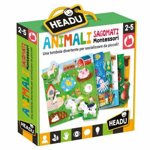 Animali sagomati Montessori