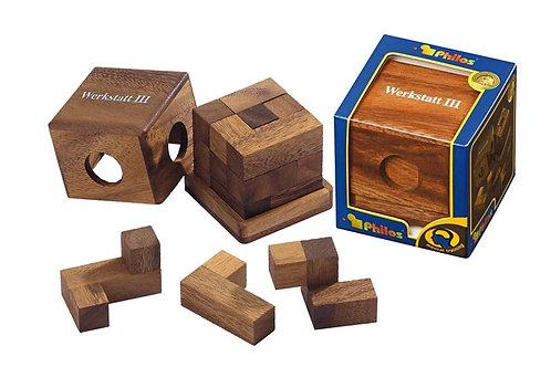 Rompicapo cubo legno - Werkstatt III