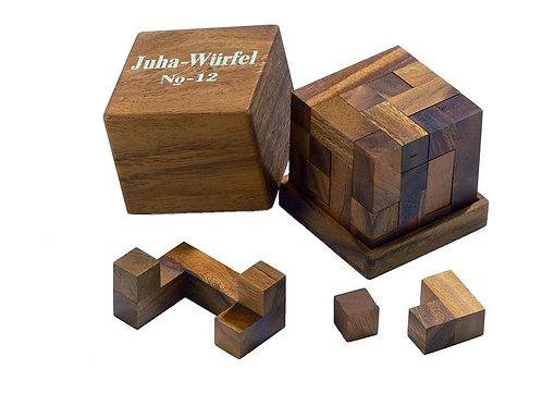 Rompicapo cubo legno grande - Juha 12
