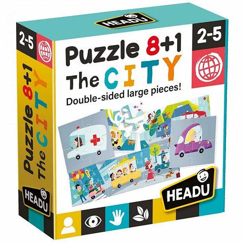 Puzzle 8+1 - città