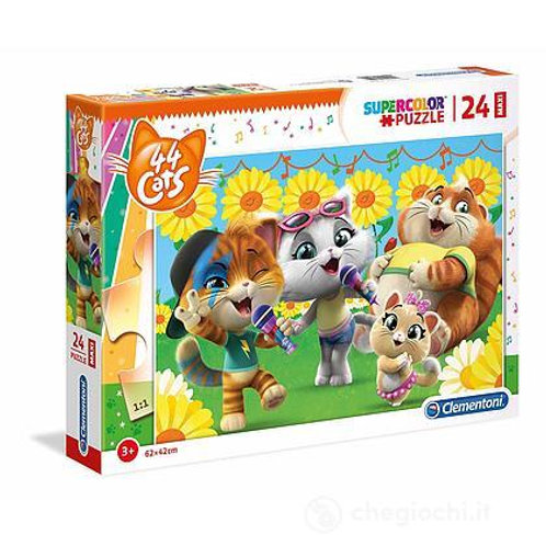 Puzzle 24 pz 44 Gatti