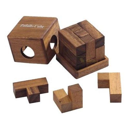 Rompicapo cubo legno - Zufallas