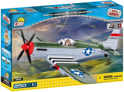 Mustang P-51C - Combattente americano