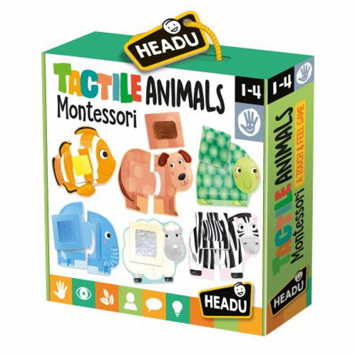 Animali tattili Montessori