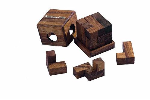 Rompicapo cubo legno - Karaitos