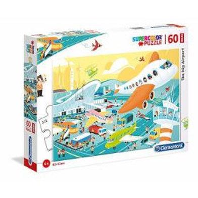 Puzzle 60 pz Maxi - Aeroporto
