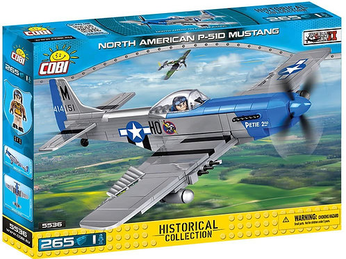 Mustang P-51D - Combattente americano