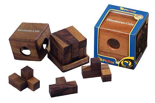 Rompicapo cubo legno - vari soggetti