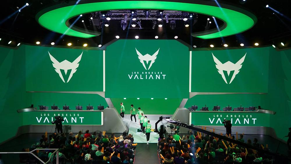 La Blizzard Arena aux couleurs des LA Valiant