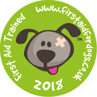 FIRST AID FOR DOGS! Our Victoria takes the lead in completing this course