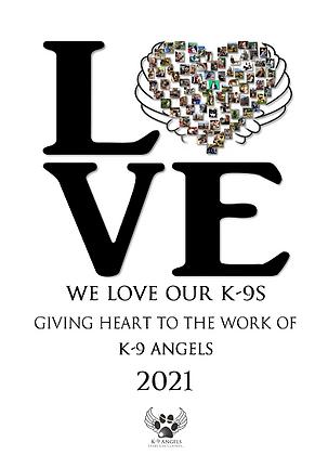 K-9 Angels 2021 Calendar