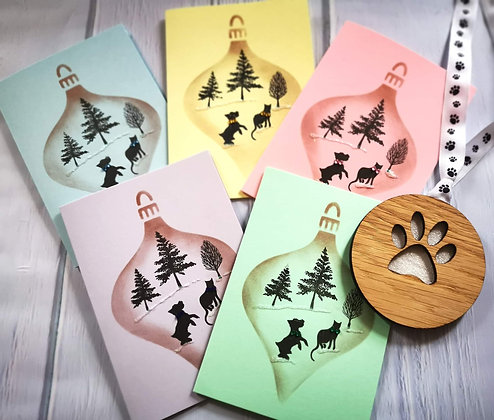 K-9 Angels Christmas Cards and Bauble