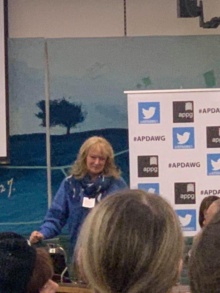 Eileen, Animal Hero at APDAWG January 2020