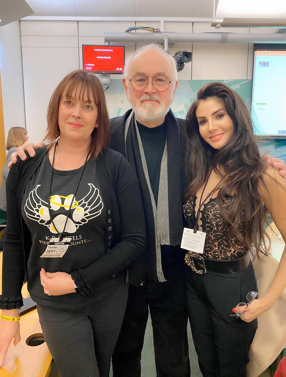 Toni, Peter and Suzie at APDAWG January 2020