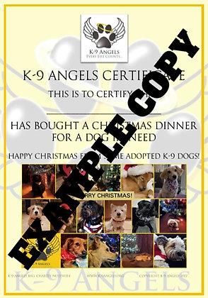 GIVE A DOG A CHRISTMAS DINNER
