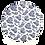Thumbnail: Sousplat Toile de Jouy Azul