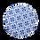 Thumbnail: Sousplat Azulejo Português