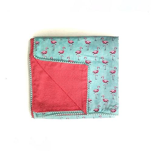 Toalha Canga Flamingos