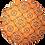 Thumbnail: Sousplat bandana laranja