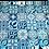 Thumbnail: Jogo americano Azulejo Turquesa