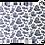 Thumbnail: Jogo americano Toile de Jouy azul