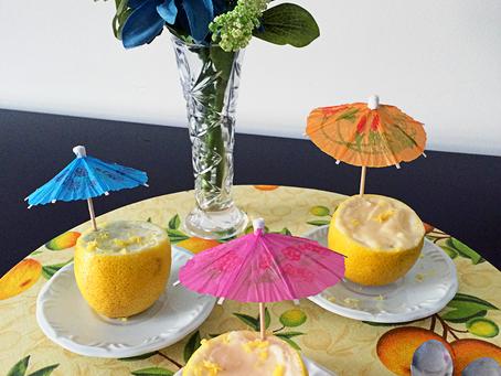 Mousse no limão siciliano