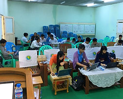GPS training course - Naypyidaw, 2018