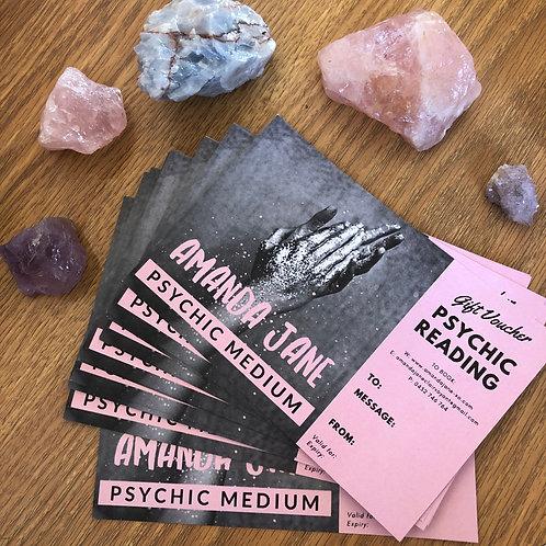 Psychic Mediumship Gift Voucher