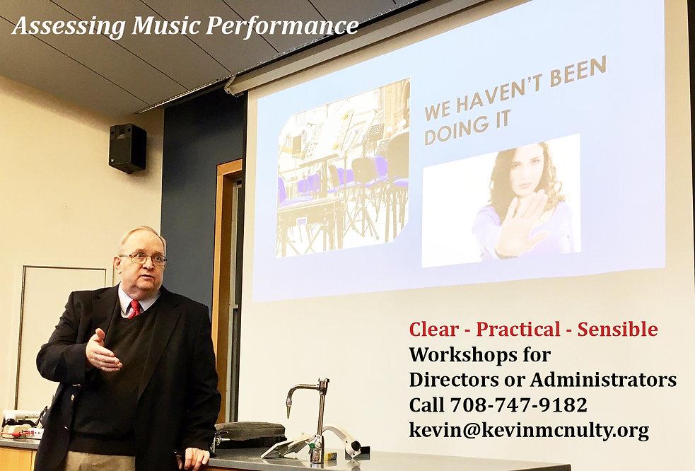 Music Assessment Clinics