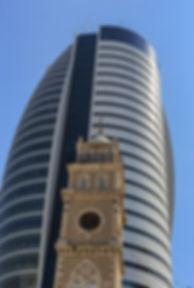 תמונה: חיפה - בנייה חדשה מול ישנה     מאתר: ארץ עיר טיולים    יום כיף   ODT   טיולים בצפון   הפקת אירועים