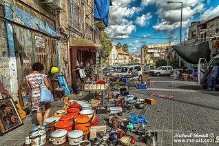 תמונה: חיפה - שוק הפשפשים |  מאתר: ארץ עיר טיולים |  יום כיף | ODT | טיולים בצפון | הפקת אירועים