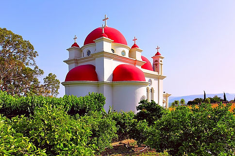 תמונה: כנסיית כפר נחום |  מאתר:  ארץ עיר טיולים |  יום כיף | ODT | טיולים בצפון | הפקת אירועים