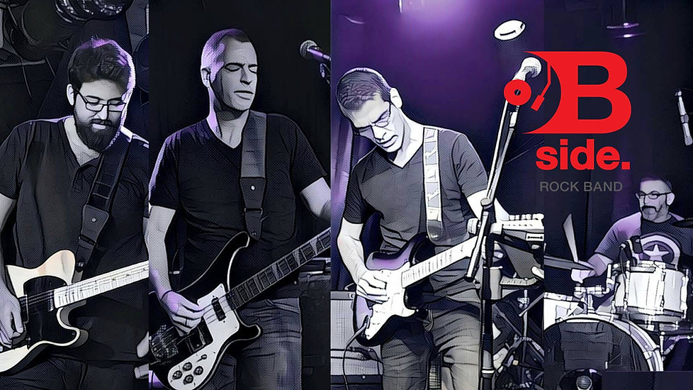 להקת בי סייד   רוק ישראלי - תוצרת הארץ   כחול ירוק הפקות