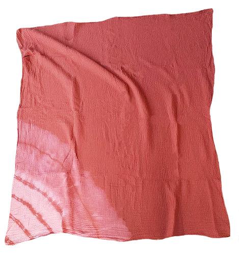 omslagdoek wafel rood xl