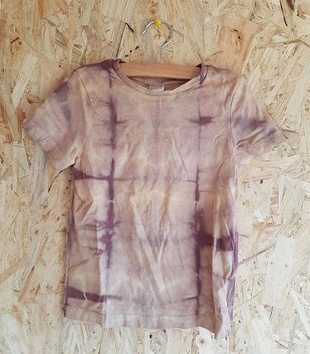 Shirt Paarse Vouwen