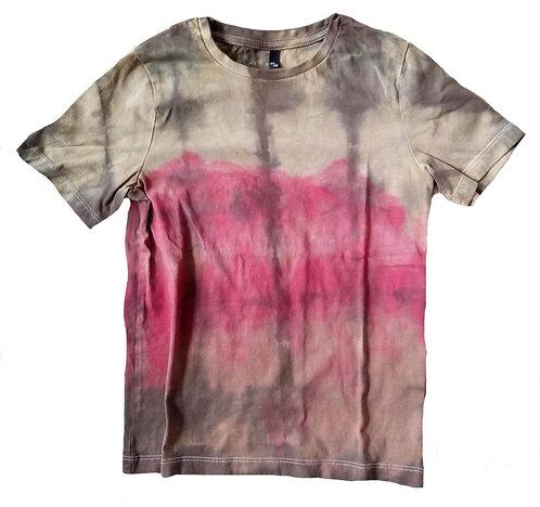 Shirt Geknoeid met Rood