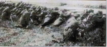 Soldat en position La Marne