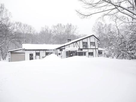 大雪と春の到来