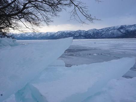 凍った湖の音 Sound of frozen lake