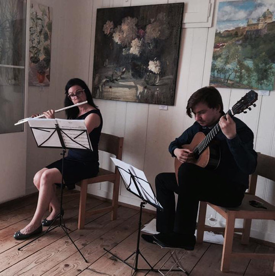 Music for events - Duo Flute and Guitar