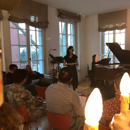 Alpha Duo Recital at Palais Kraft in Zür