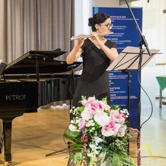 Alpha Duo - Classical Recital at Musica Coronensis (Pianist: Alexandra Ducariu)