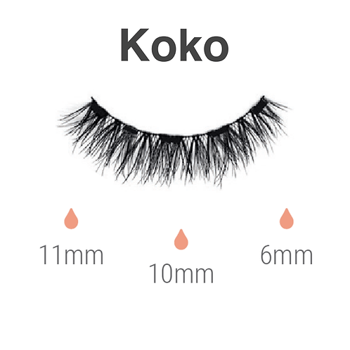Magnetic lashes - koko
